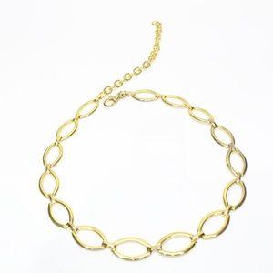 Vintage Gold Oval Shape Chain Belt